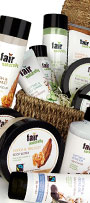 Fair Naturally Fairtrade Range