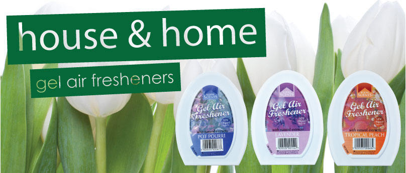 Room Scents Gel Air FreshenersBanner