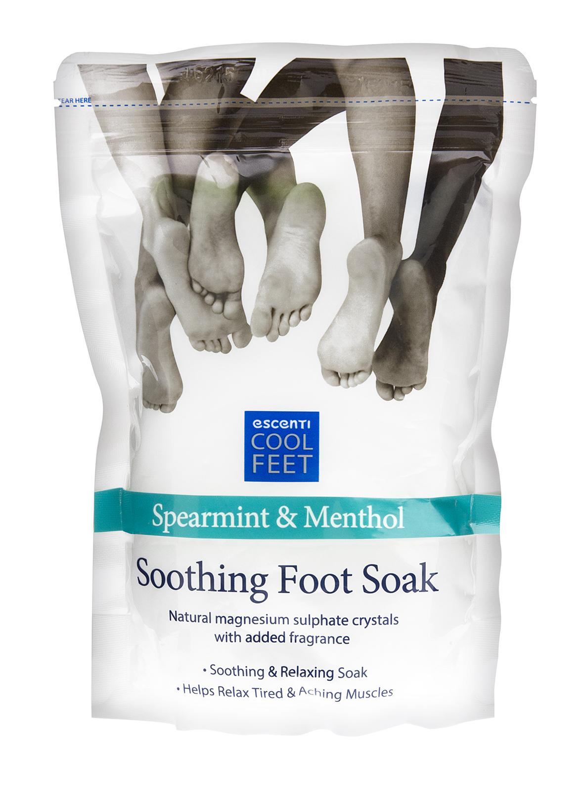 Escenti Cool Feet Softening Foot Lotion