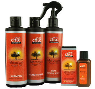 salon chic hair straightening products