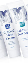 escenti cool feet footcare products